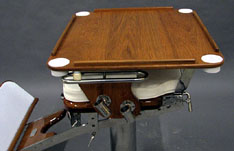 Interechangeable TAbletop for Fighting or Helm Chairs