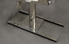 Stainless Steel Slide Track System