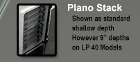 Plano Stack in Leaning Post