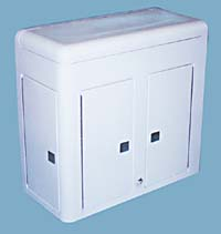 Fiberglass Center with Ice Chest and more