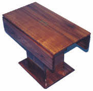 Hi Low TAble With Hydralic Lift And Drop Down Leaf