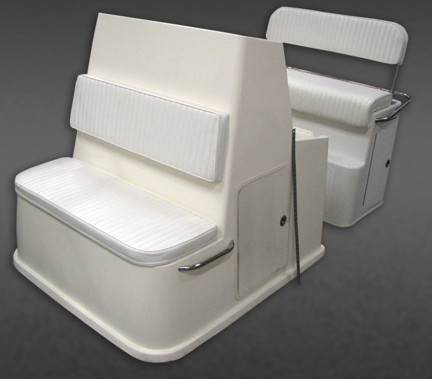 Custom Fiberglass Bench Seat Modules